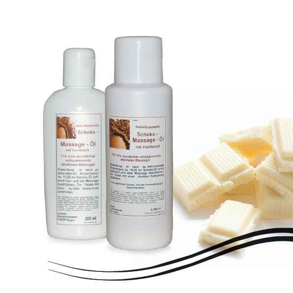 White Chocolate Massage-Öl, sehr ergiebig  200 ml